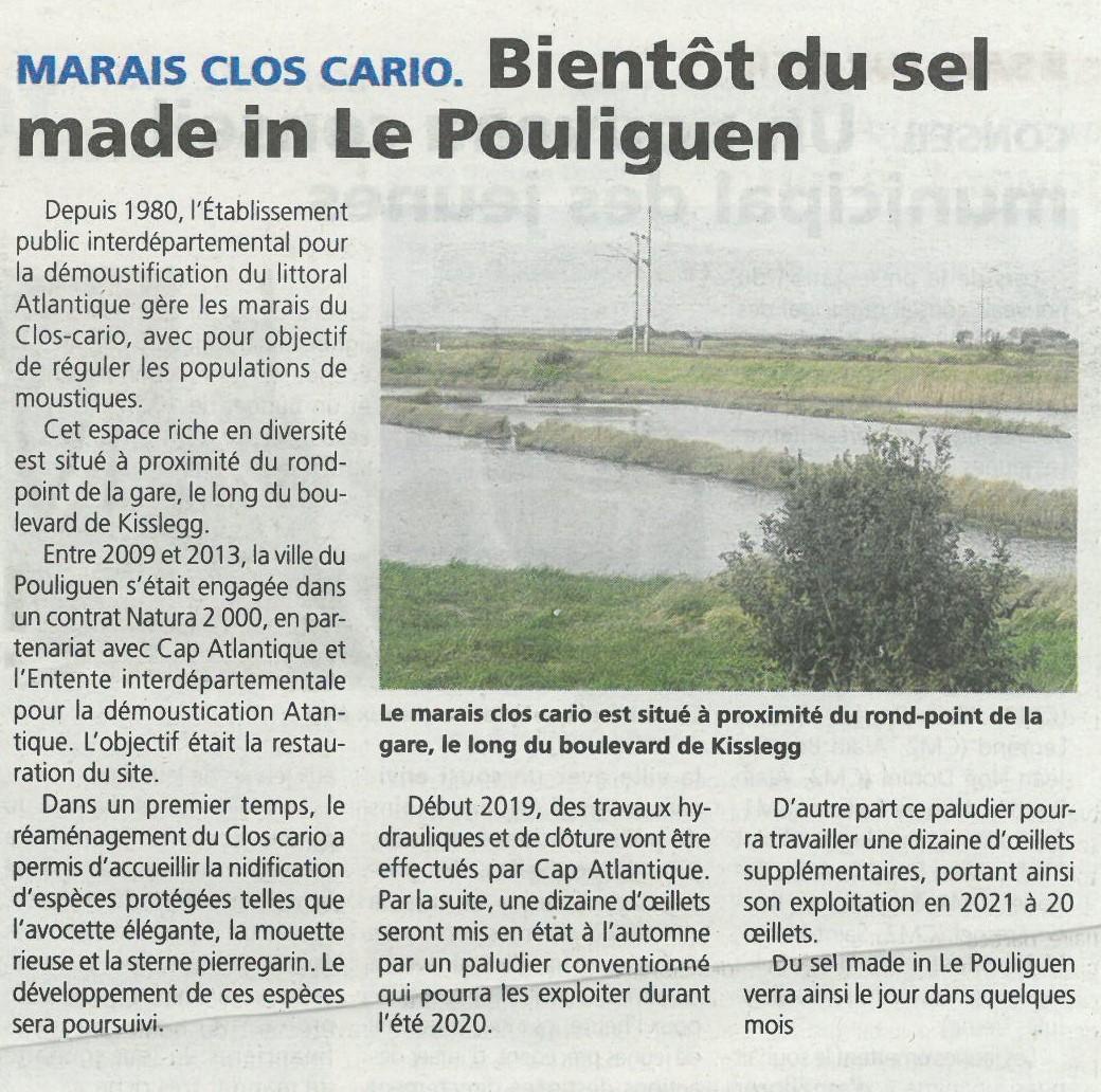 Bientôt du sel made in Le Pouliguen