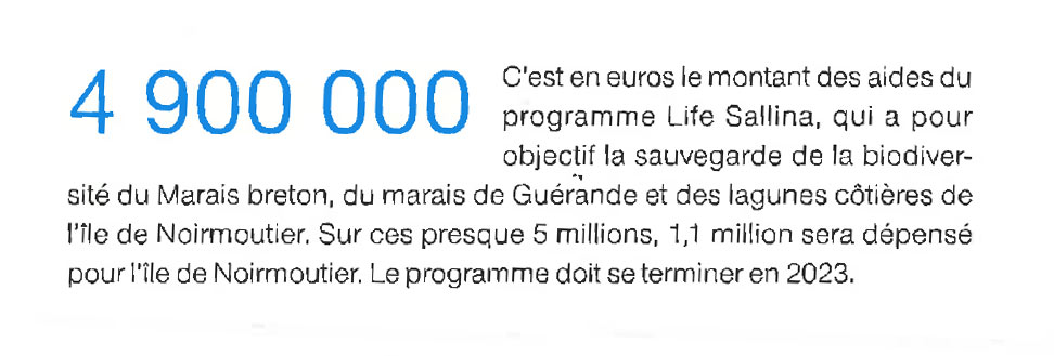 Ouest France - chiffre projet-Life-Sallina